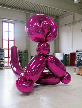 Balloon Monkey (Magenta)