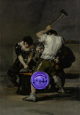 Gazing Ball (Goya The Forge)