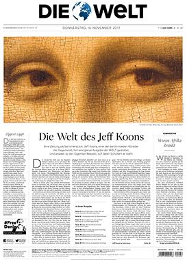 Die Welt: Eighth Special Art Edition Supplement