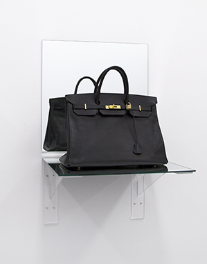 Birkin Bag Black (Shelf) - Bag donated by Sofia Coppola