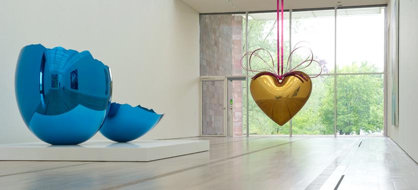 Jeff Koons, Fondation Beyeler, Basel, Switzerland, 2012.