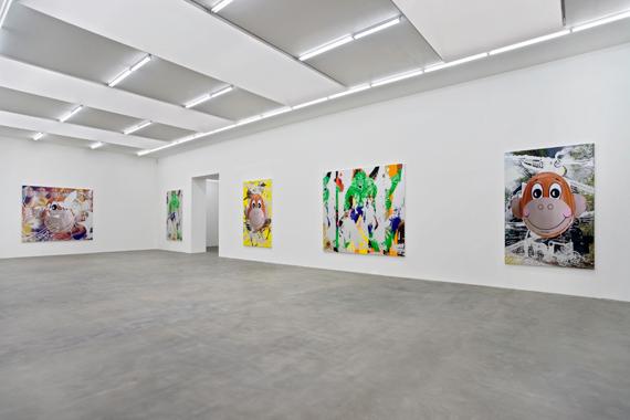 Jeff Koons: Hulk Elvis. Gagosian Gallery, Britannia Street, London, 2007.