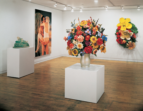 Jeff Koons. Made In Heaven, Sonnabend Gallery, New York, 1991.