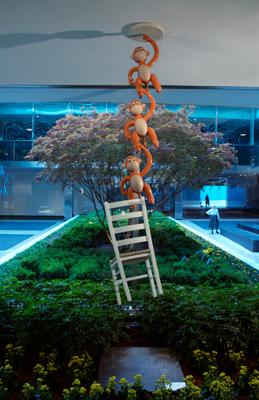 Jeff Koons, Lever House, New York, 2005-2006.