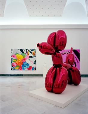 Jeff Koons, Museo Archeologico Nazionale, Naples, Italy, 2003.