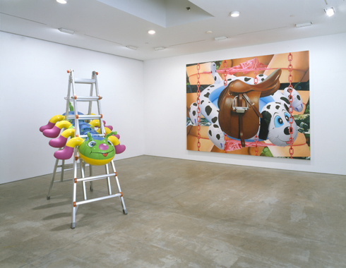 Jeff Koons. Popeye, Sonnabend Gallery, New York, 2003.