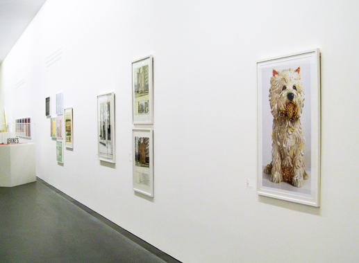 Puppy by Jeff Koons. Op + Pop - Experiments by American Artists Starting in the 1960s, Staatsgalerie Stuttgart, 2013.