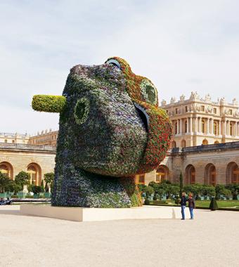 Jeff Koons: Versailles, Versailles Château de Versailles, France, 2008-2009.