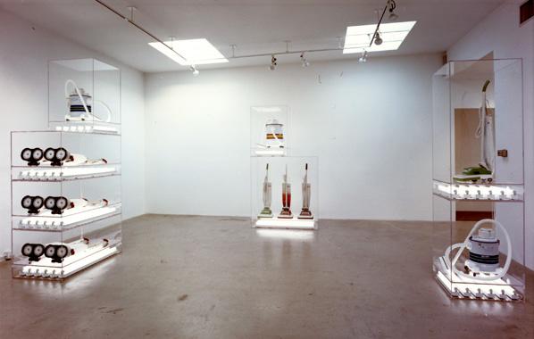 Jeff Koons. The New: Encased Works, Daniel Weinberg Gallery, Los Angeles, 1987.