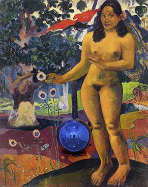 Gazing Ball (Gauguin Delightful Land)