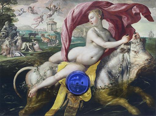 Gazing Ball (de Vos Rape of Europa)