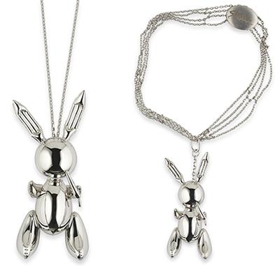 Rabbit – Stella McCartney Necklace Pendant by Jeff Koons (2005-2009)