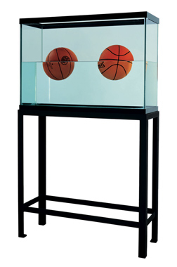 Two Ball 50/50 Tank (Spalding Dr. J Silver Series, Wilson Supershot), 1985