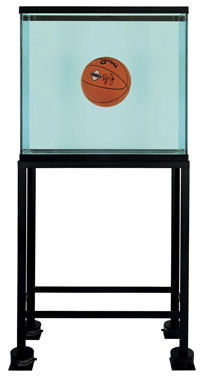 One Ball Total Equilibrium Tank (Spalding Dr. J Silver Series), 1985