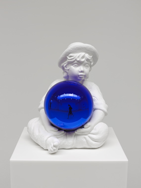 Gazing Ball (Little Boy)