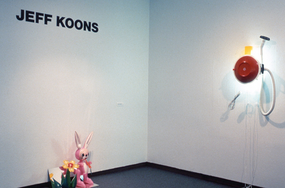 Jeff Koons. Museum of Contemporary Art, Chicago, 1988.
