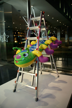 Jeff Koons, Lever House, New York, 2005-2006.