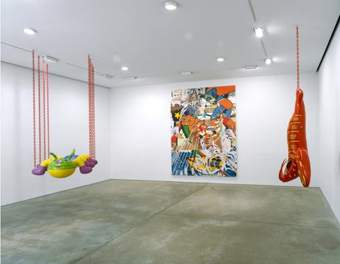 Jeff Koons. Popeye, Sonnabend Gallery, New York, 2003.