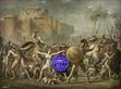 Gazing Ball (David Intervention of the Sabine Women)
