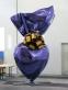 Sacred Heart (Violet/Gold)