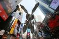 Rabbit – Macy's Thanksgiving Day Balloon by Jeff Koons (2007)