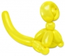 Balloon Monkey Wall Relief (Yellow)