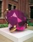 Jeff Koons. Diamond (Magenta), Victoria & Albert Museum, London, 2006.